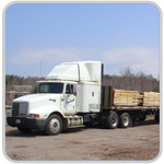 Birdseye Maple, Curly Maple (Tiger Maple) Sawmill Truck