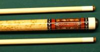 Curly Maple (Tiger Maple) Project by QB' 'Custom Cues