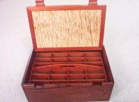 Exotic Wood Bloodwood, Exotic Wood Honduras Rosewood, Exotic Wood Quilted Western Maple