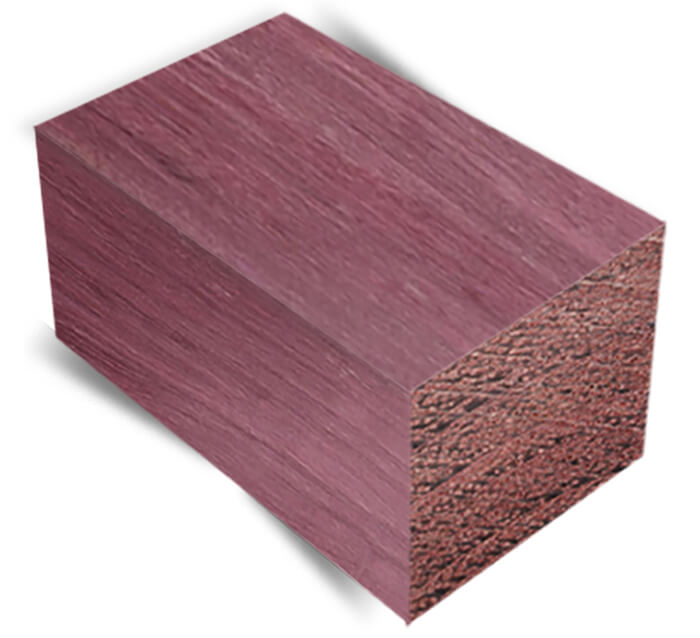 Purpleheart exotic wood lumber bell forest