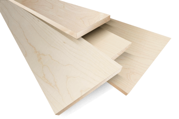 Hard maple lumber bell forest products