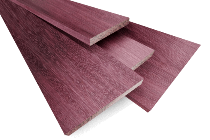 <strong>Purpleheart (4/4) - 10 B.F. Project Pack 011< - Purpleheart Exotic Wood & Purpleheart Lumber Bell Forest Products