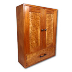 Exotic Lumber Wall Hanging Cabinet Package