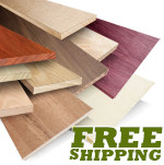Exotic Lumber Project Packs (20 BF), Birdseye Maple, Curly Maple (Tiger Maple)