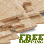 Birdseye Maple, Curly Maple (Tiger Maple) Exotic Lumber Packs
