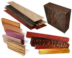 Exotic Wood Blanks