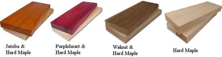 Exotic Wood Cutting Board Options