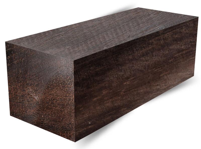 "GOLDEN EBONY WOOD DUCK CALL TURNING BLANKS 1-1//2/"" X 1-1//2/"" X 3/"" 5//8/"" Bore"