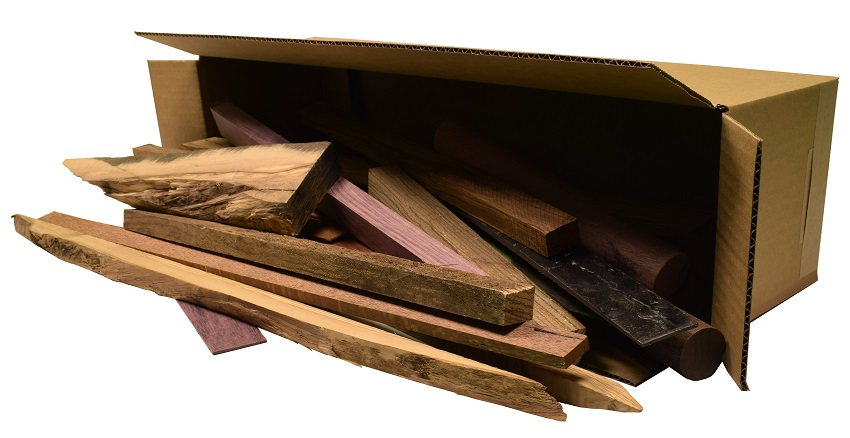Strong Exotic Wood Mix 15 Pound Cutoff Package