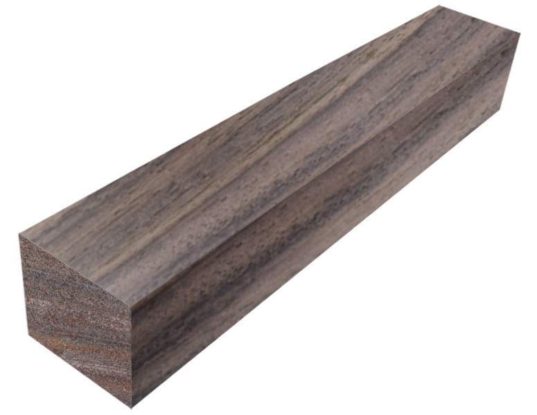 """2 Turning Wood 2/"""" x 2/"""" x 25/"""" Lot Of 2 Figured Indian Rosewood Pool Cue Blanks"""