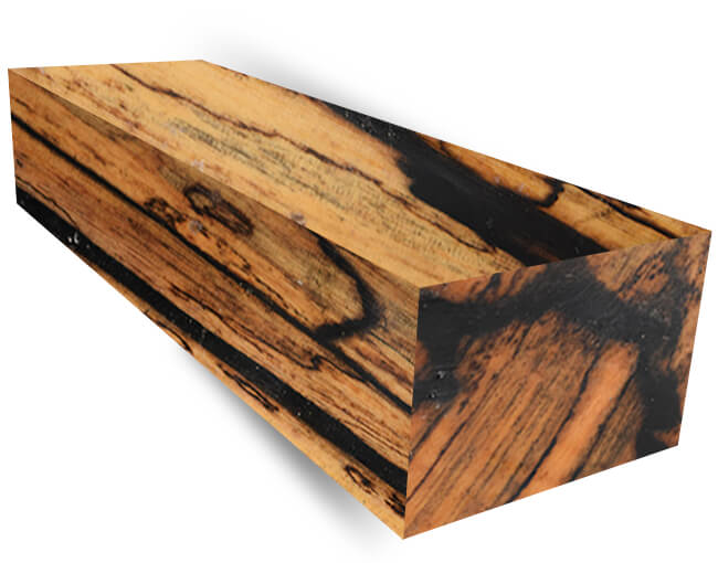 Ebony wood blanks